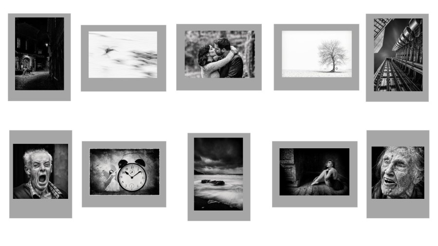 First Monochrome Print Panel  - Blarney Photography Club